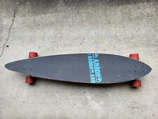 """Arbor Pin Gt Longboard 46"""", Art by Dave Kinsey, Used, Original Parts"""