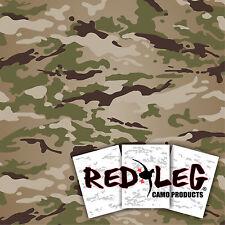 """Redleg Camo OCP 3 piece 12""""x9"""" stencil kit scorpion W2 army airbrush"""