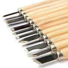 Woodworking Tool Set 12Pcs Wood Carving Hand Chisel Woodworkers Gouges U87