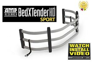 Amp-Research 74801-00A BedXTender HD Sport Silver Color for 95-15 Toyota Tacoma