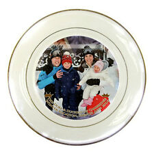 The Duke & Duchess of Cambridge Prince William Royal Vacation Porcelain Plate #2