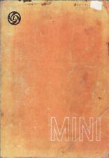 MINI MK1 MK2 850 1000 CLUBMAN 1275GT MOKE COOPER & S 59-76 FACTORY REPAIR MANUAL