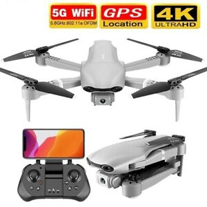 Quadrotor Rc Drone With GPS 4K 5G WiFi HD Wide Angle Dual Camera For Live Video