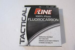 P-Line PTFL-200-10 Tactical Fluorocarbon Line 200 Yards 10LB.  _NEW