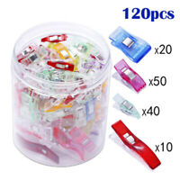 Wonder Clips For Fabric Craft Sewing Quilting Knitting Crochet DIY Tool With Box