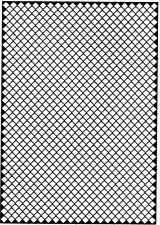MMA TECH 12 Fotoincisione foro quadrato lato 1,6 mm.