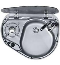 SMEV Dometic 8821 R/H 1 Burner Hob & Sink Combination Unit Cooker