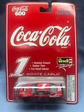 Revell Racing Hot Wheels Coca-Cola 600 Monte Carlo #1 diecast w/ rubber tires