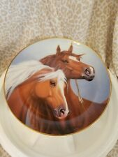 Danbury Mint, A Heritage Of Horses Collection, Sweethearts,1993 by D.Hansen