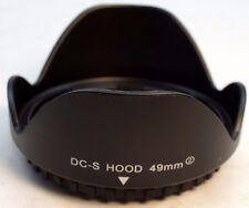 49mm Plastic Flower shaped lens hood lenses screw in type - Free SHipping