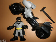 DC IMAGINEXT batman + BATPOD cycle DCU universe FIGURE toy vehicle BAT-POD