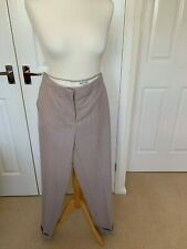 Reiss Cream/Taupe/Pink Ladies Trousers Size 10