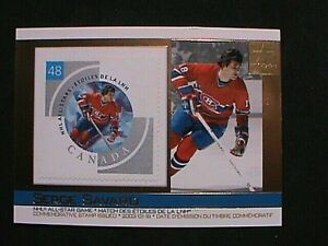 VERY RARE ! 2003 PACIFIC CANADA POST NHL ALL-STARS GAME STAMP SERGE SAVARD !!