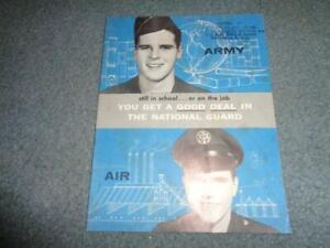 VINTAGE NATIONAL GUARD INFORMATIONAL BOOKLET