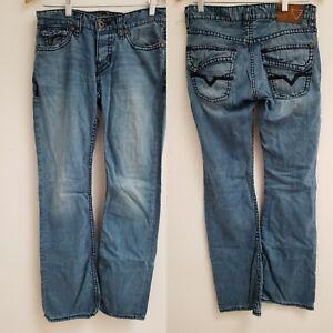 Guess Los Angeles Falcon Slim Boot Jeans Mens SZ 29-31.5