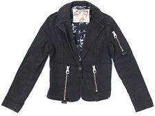 DIESEL STYLE LAB G020 BLACK WOMENS JACKET SZ L 100% AUTHENTIC DIESEL JACKET