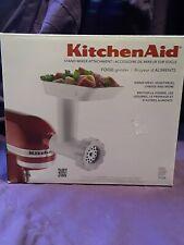 Kitchen Aid Food Grinder Stand Mixer Attachment  NEW