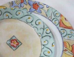NOS Corelle WATERCOLORS Choose: 8 1/2 LUNCH or 10 3/4 DINNER PLATE Floral Fruit