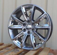 "22"" Chevy Silverado Denali Rims 5696 Tahoe Wheels Suburban Escalade GMC Yukon"