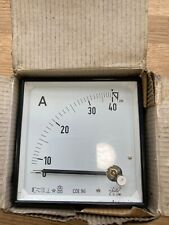 Amp  Current Panel Meter Analogue 0-40a  NEW