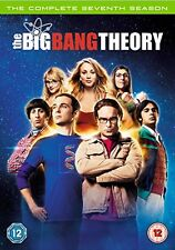 THE BIG BANG THEORY Stagione 7 BOX 3 DVD Lingua Inglese Francese NEW .cp