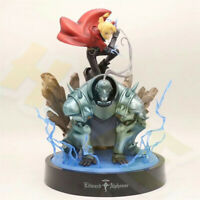 "Fullmetal Alchemist Edward & Alphonse Elric Brothers 12"" PVC Action Figure Model"