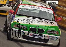Autógrafo en foto 13x18 cm macao 2003 duncan Huisman-BMW 320i