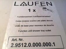 LAUFEN 2.9512.0.000.000.1 TEMPOPLEX ABLAUFGARNITUR GRUNDSET 112 MM VIEGA 575601