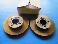 2 Disques de freins ventilés avant Lucas pour Audi 80, 90, 100, 200