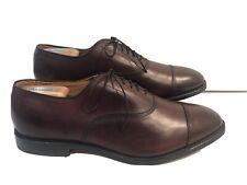 Allen Edmonds Park Avenue Mens Shoes Burgundy Dress Lace Up Size 11.5 E