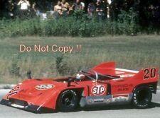 Jo Siffert STP Porsche 917/10 Road Atlanta CAN AM 1971 photographie