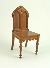 Dollhouse Miniature Gothic Revival Chair, P6638