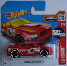 """Hot Wheels-Dodge Charger srt8 rojo """"Fire"""" Treasure Hunt nuevo/en el embalaje original"""