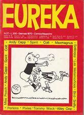 EUREKA n. 27 - EDITORIALE CORNO - GENNAIO 1970