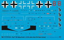 """Peddinghaus 1/72 3172 Fw 190 a-8"""" Rojo 8"""" ERRORES Matthäus ERHARDT,5. JG 300 löb"""