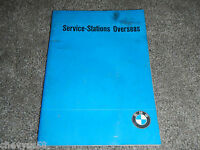 BMW SERVICE STATIONS OVERSEAS SHOP SERVICE REPAIR MANUAL
