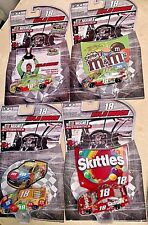 KYLE BUSCH 2016 #18 NASCAR AUTHENTICS 4 CAR SET CRISPY,CHAMPIONSHIP,M&M,SKITTLES