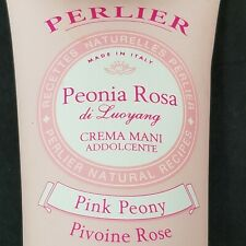 Perlier Pink Peony Hand Cream 3.3 Fl Oz New Sealed Package Made in Italy