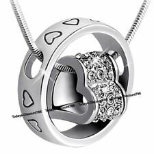 BLACK FRIDAY DEALS Heart Ring Crystal Necklaces Love Xmas Gifts For Her Mum Lady