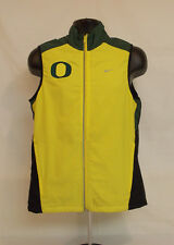 Oregon DUCKS Football NIKE OMB Marching Band TEAM ISSUED Zip Up VEST Adult MED