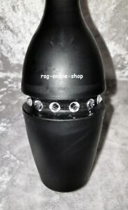 Keulengummi STRASSDEKO Strassgummi für RSG KEULEN schwarz SS20 crystal Gr. Uni