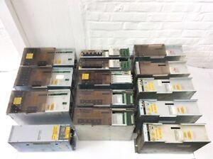 14er Set div Indramat AC Servo Geräte ua mit 3x Line Former NAM 1.2-15