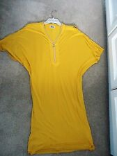 New DIESEL yellow dress size L