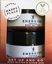 Fearne Cotton HAPPY PLACE Body Butter And Scrub Duo VEGAN gift set