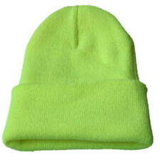 Unisex Knitined Cap Hats Slouchy Knitting Beanie Hip Hop Cap Warm Winter Ski Hat