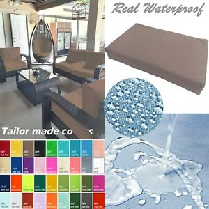 TAILOR MADE COVER*Patio Bench Cushion Waterproof Outdoor Swing Sofa Daybed Dw03