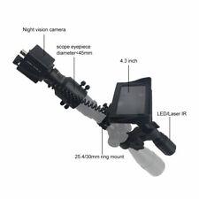 DIY Nachtsichtgerät Tag Nacht Zielfernrohr mit 850 nm IR-Taschenlampe 4,3
