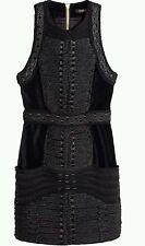 Balmain x h&m hm dress velvet velours size 34 - UK 6 BNWT in hands