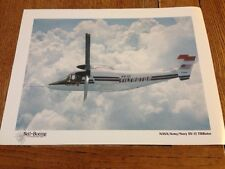 Vintage Bell Helicopter XV-15 Tiltrotor Print/Lithograph