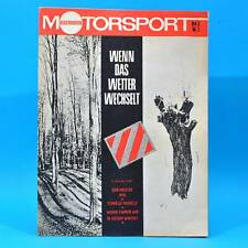 DDR Illustrierter Motorsport IMS 24 1970 Eberswalde Husqvarna KTM Airbag AWE M